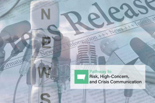 risk communication course Dr. Vincent Covello